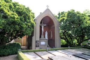 Kapel op de begraafplaats