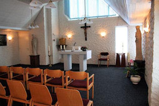 Altaar in de kapel